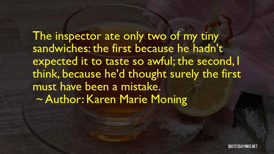 Inspector Quotes By Karen Marie Moning
