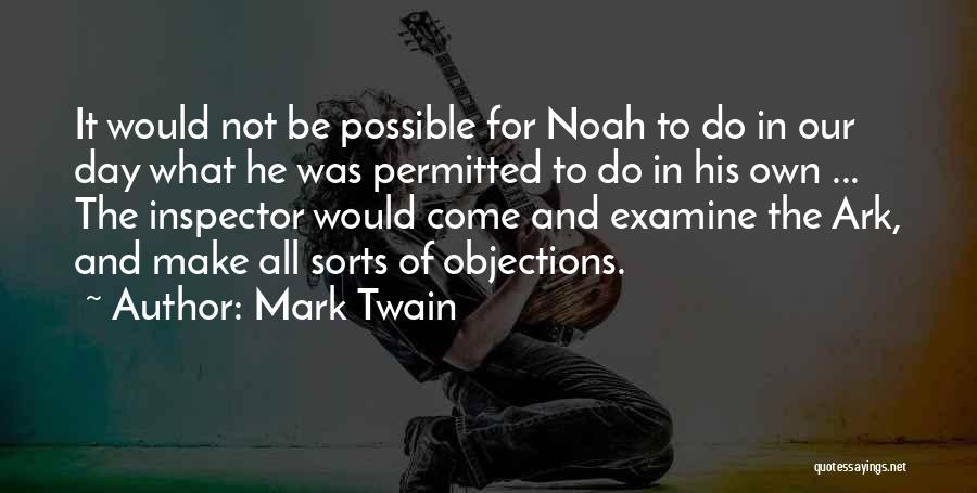 Inspector Quotes By Mark Twain