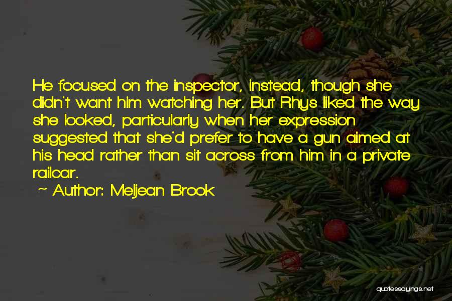 Inspector Quotes By Meljean Brook