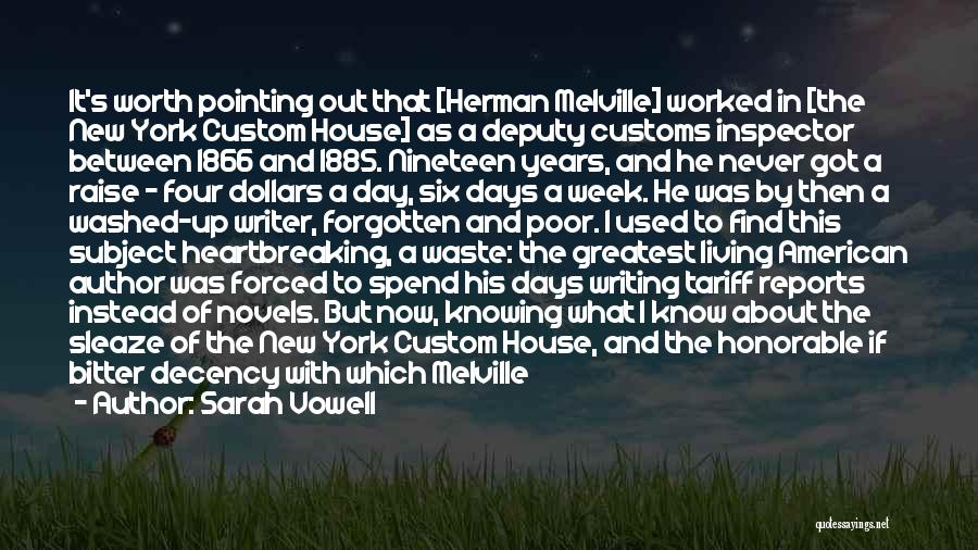Inspector Quotes By Sarah Vowell