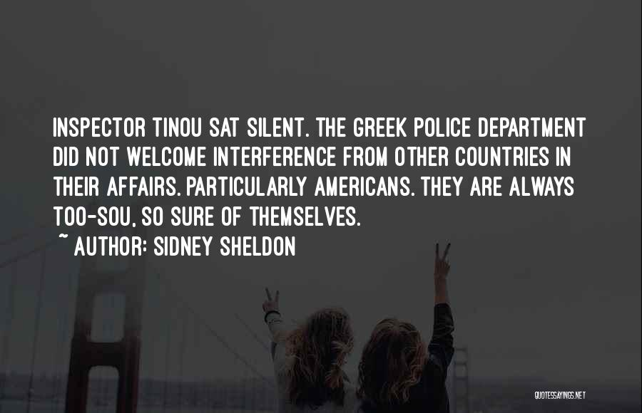 Inspector Quotes By Sidney Sheldon