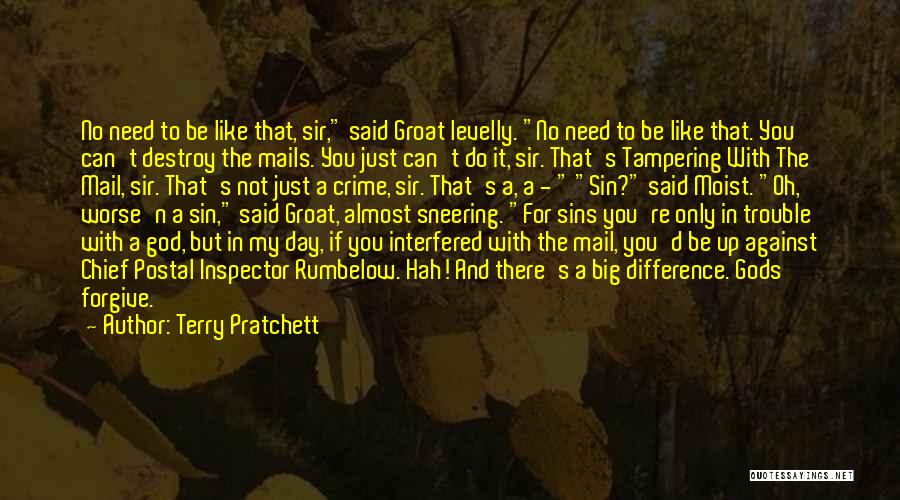 Inspector Quotes By Terry Pratchett