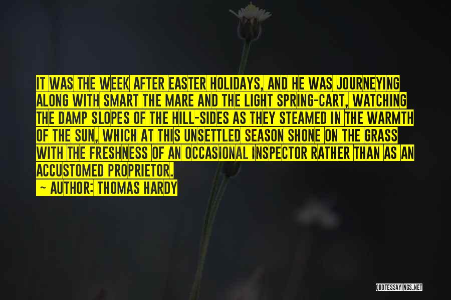 Inspector Quotes By Thomas Hardy