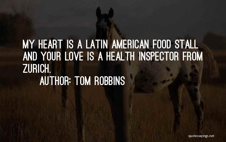 Inspector Quotes By Tom Robbins