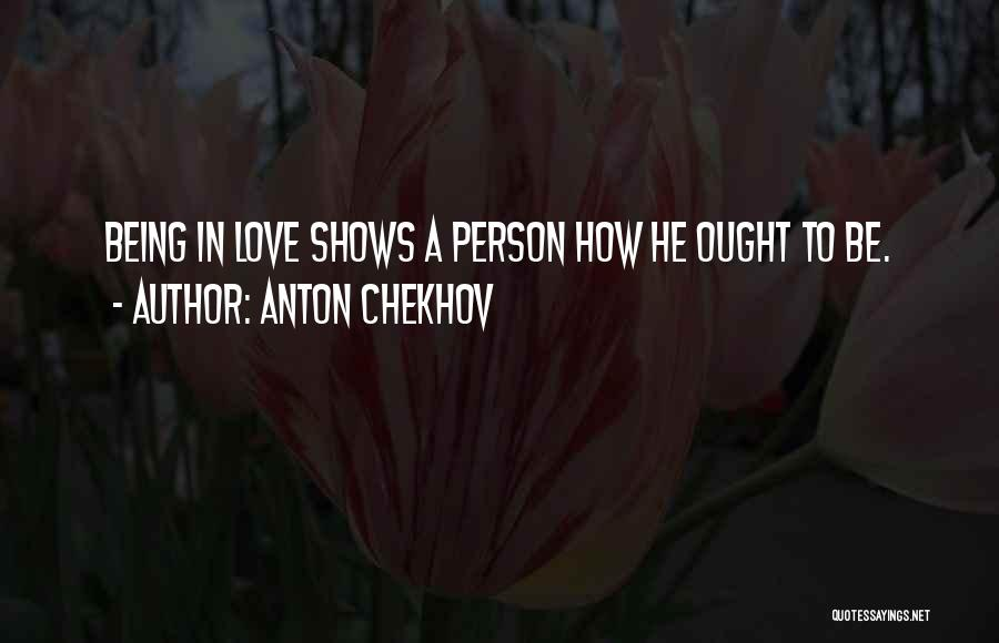 Inspiration Love Quotes By Anton Chekhov