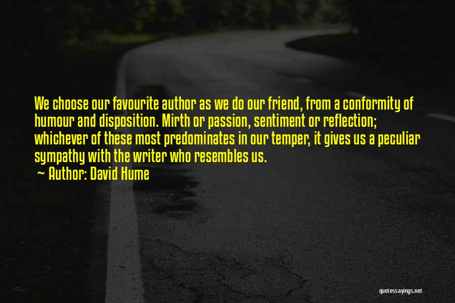 Inspiration Love Quotes By David Hume