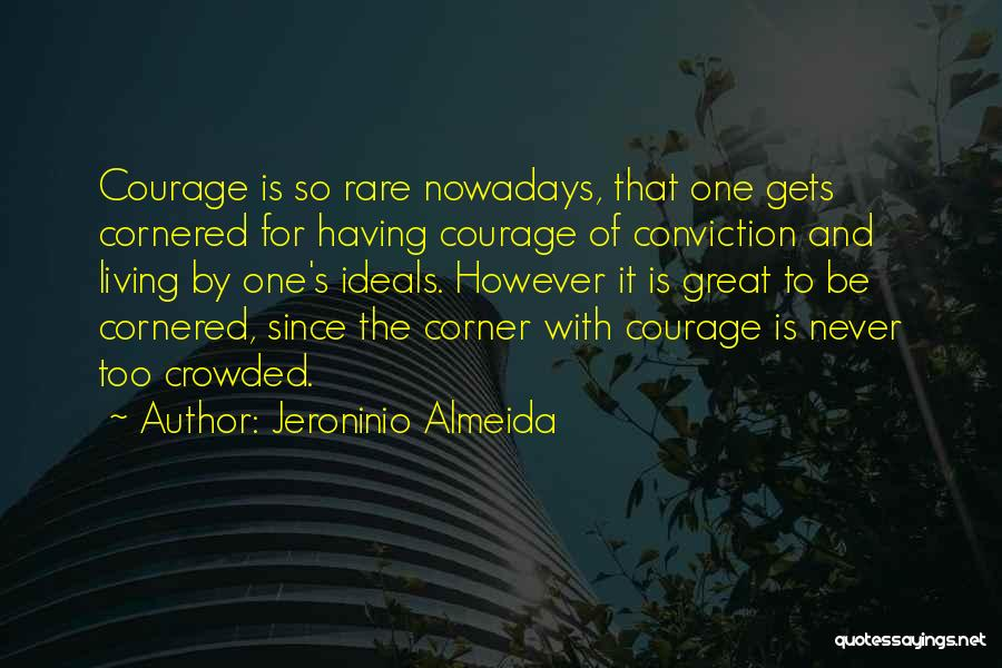 Inspirational Corner Quotes By Jeroninio Almeida
