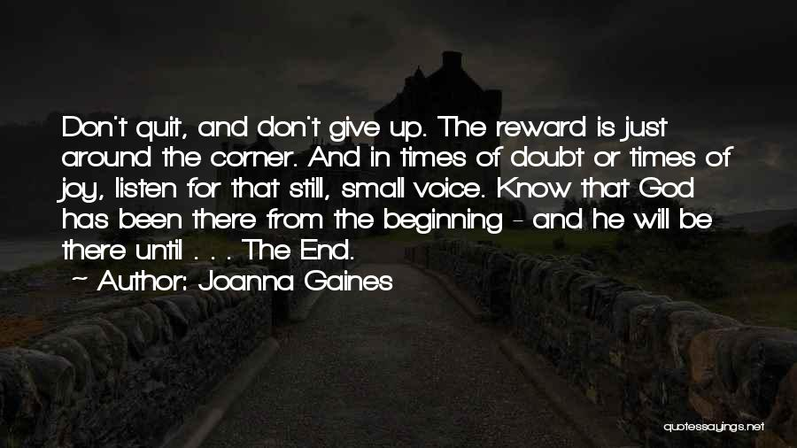 Inspirational Corner Quotes By Joanna Gaines