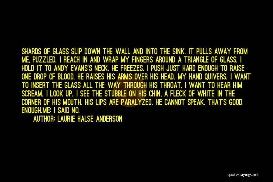 Inspirational Corner Quotes By Laurie Halse Anderson