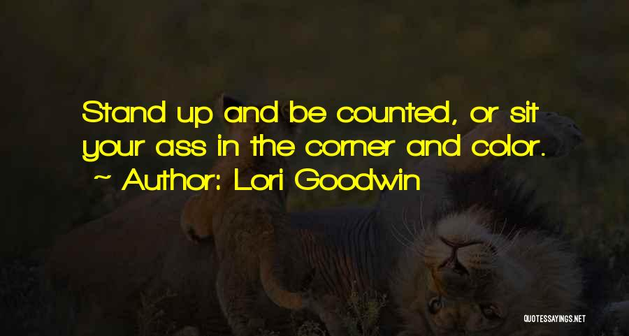 Inspirational Corner Quotes By Lori Goodwin