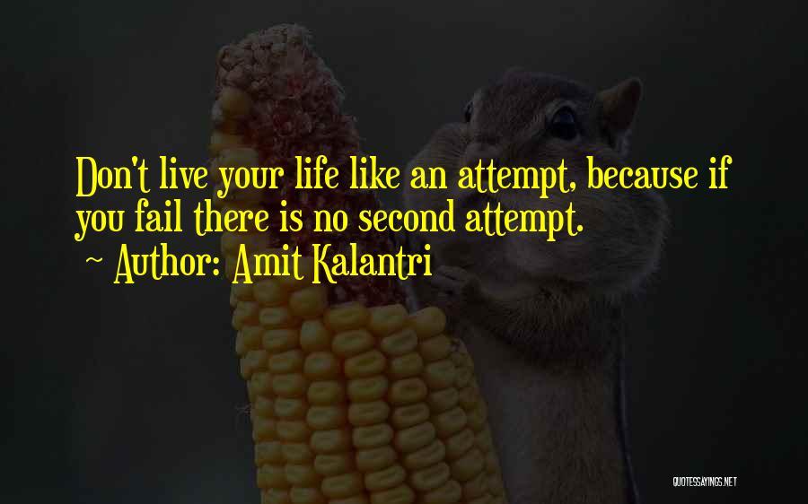Inspirational Failure Quotes By Amit Kalantri