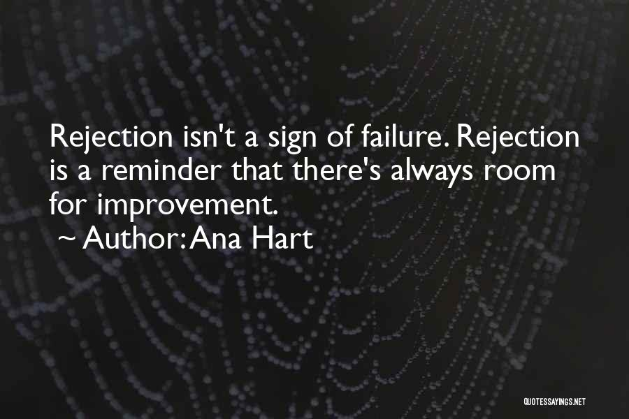 Inspirational Failure Quotes By Ana Hart