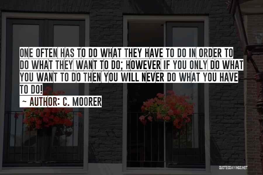 Inspirational Failure Quotes By C. Moorer