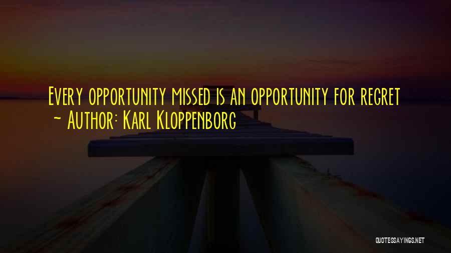 Inspirational Failure Quotes By Karl Kloppenborg