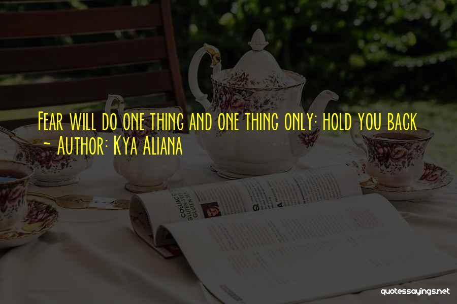 Inspirational Failure Quotes By Kya Aliana