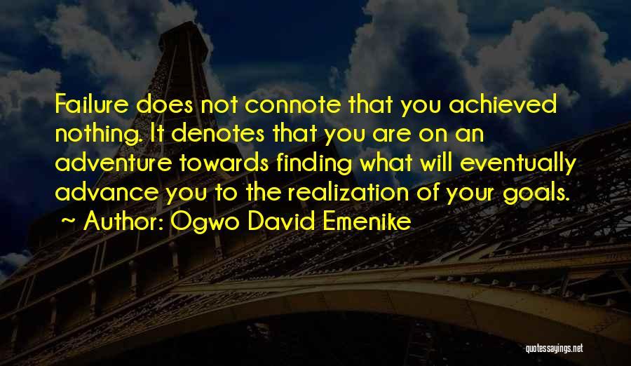 Inspirational Failure Quotes By Ogwo David Emenike