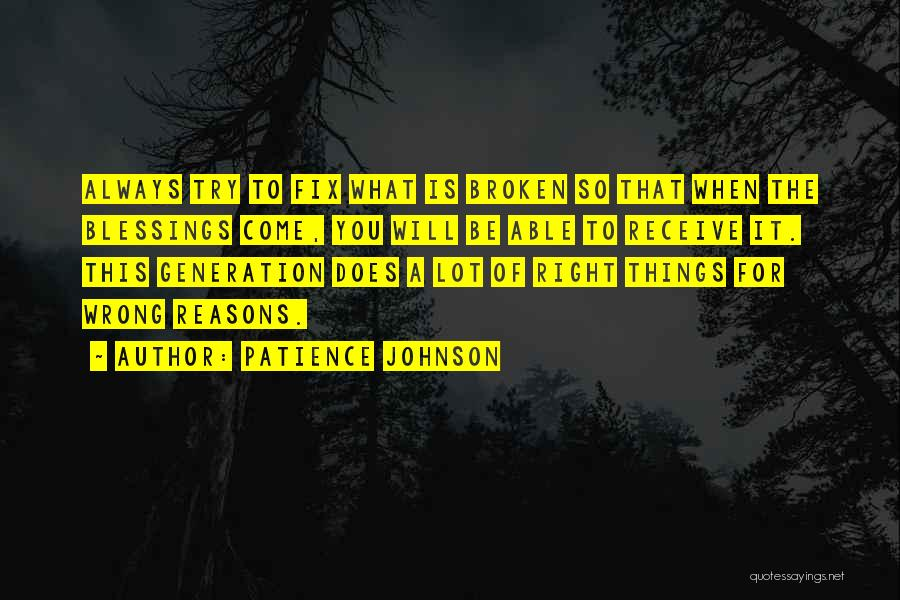 Inspirational Failure Quotes By Patience Johnson