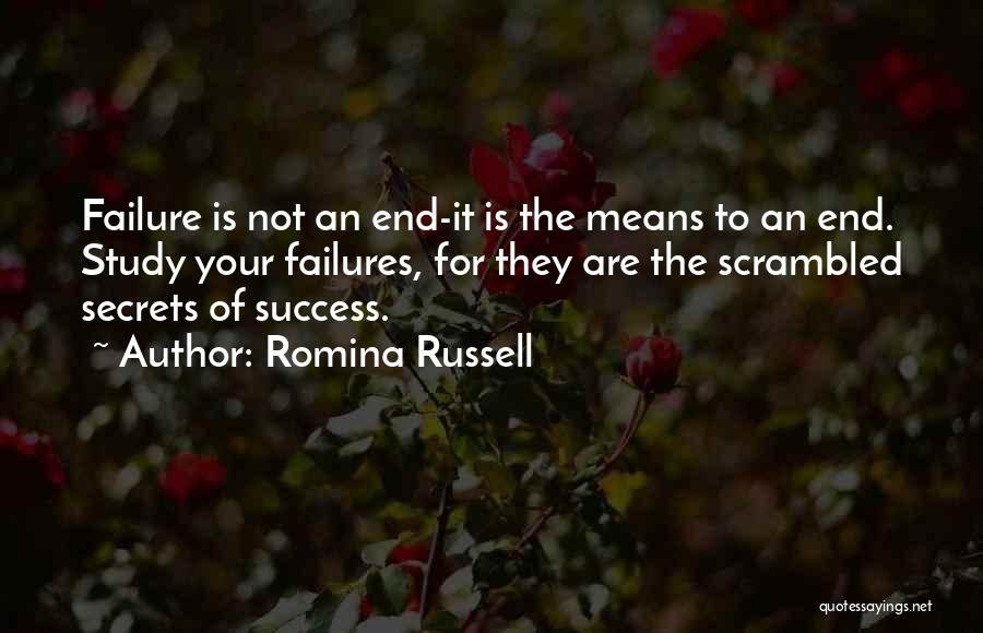 Inspirational Failure Quotes By Romina Russell