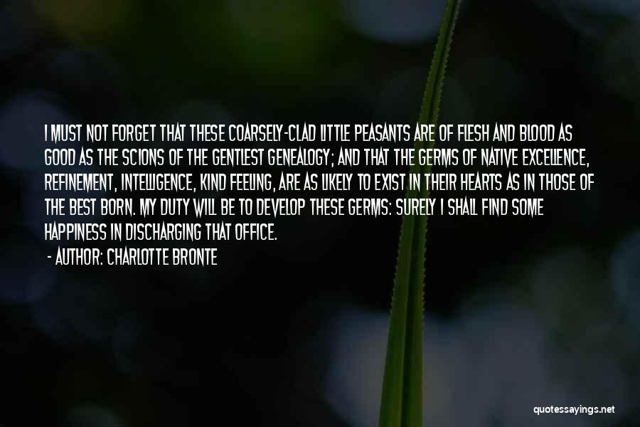 Inspirational Genealogy Quotes By Charlotte Bronte