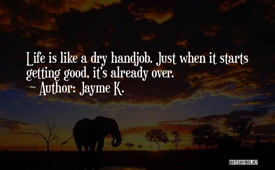 Inspirational Getting Over Someone Quotes By Jayme K.