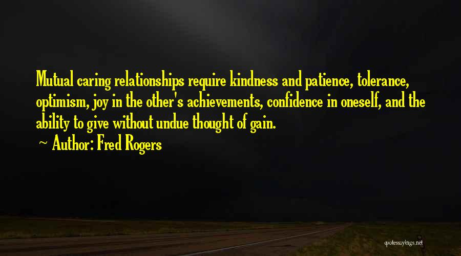 Inspirational Relationships Quotes By Fred Rogers