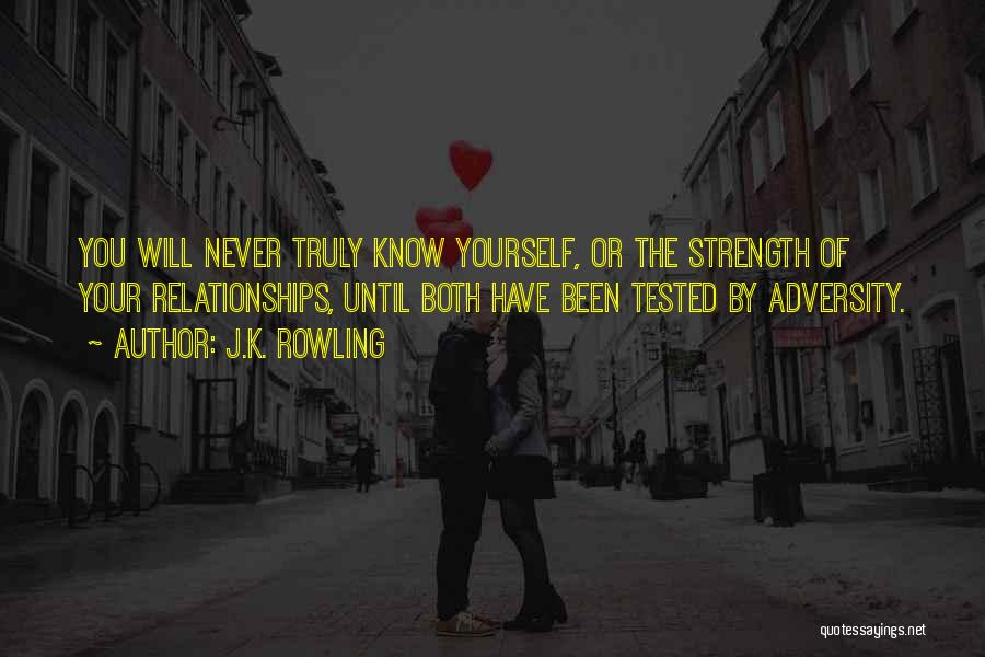 Inspirational Relationships Quotes By J.K. Rowling