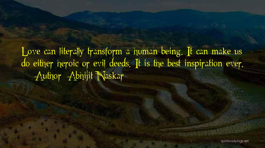 Inspirational Sayings And Quotes By Abhijit Naskar