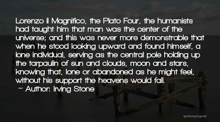 Inspirational Serving Quotes By Irving Stone