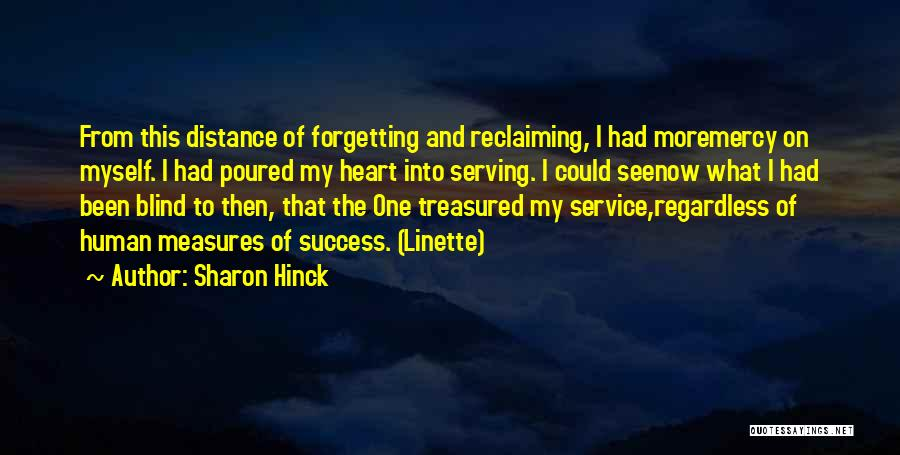 Inspirational Serving Quotes By Sharon Hinck