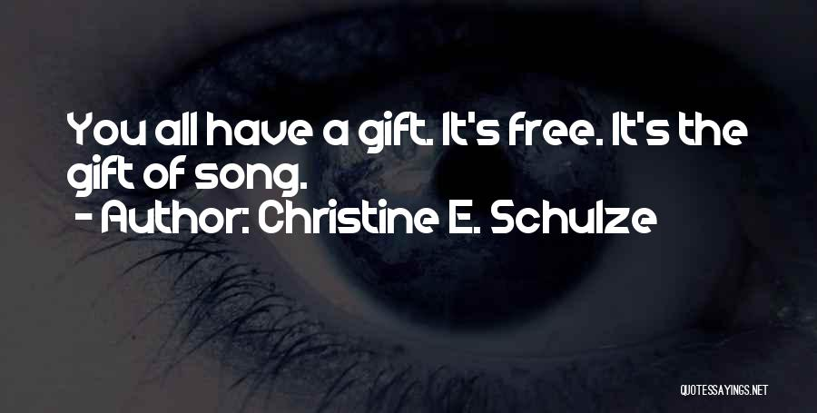 Inspirational Stag Quotes By Christine E. Schulze