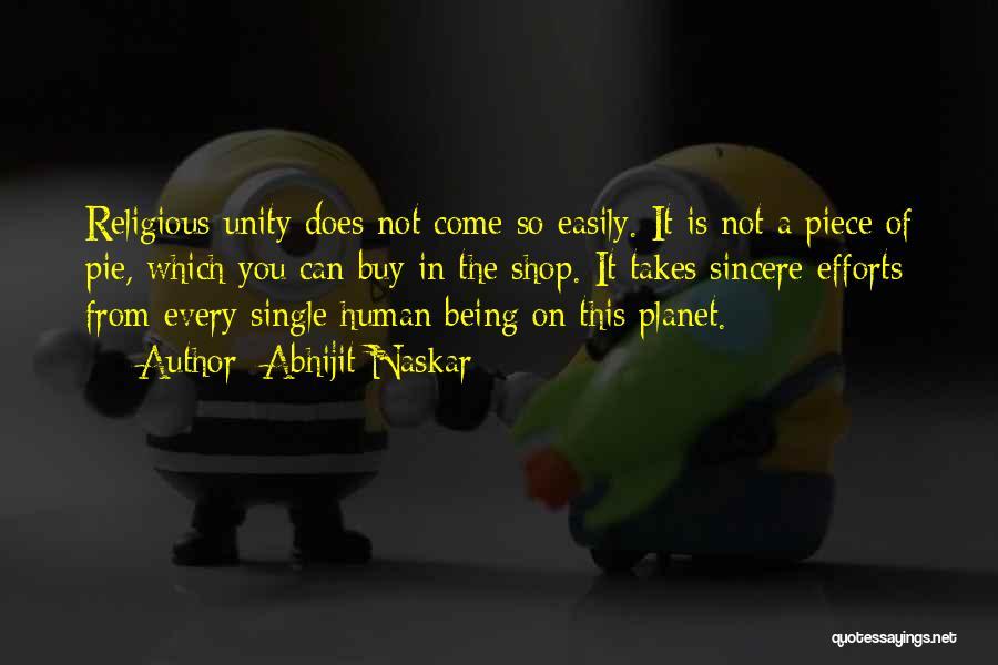Inspirational Unity Quotes By Abhijit Naskar