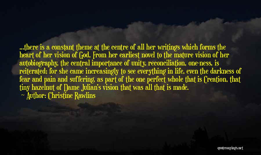 Inspirational Unity Quotes By Christine Rawlins