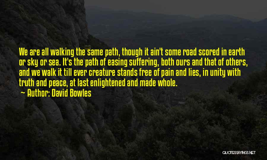 Inspirational Unity Quotes By David Bowles