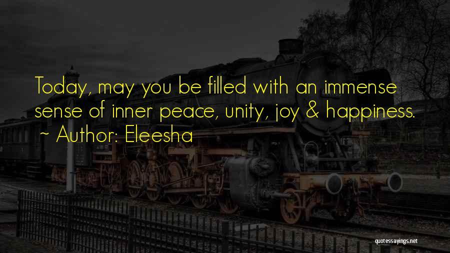 Inspirational Unity Quotes By Eleesha