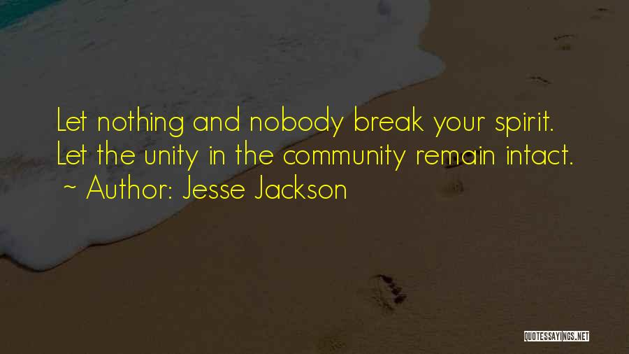 Inspirational Unity Quotes By Jesse Jackson