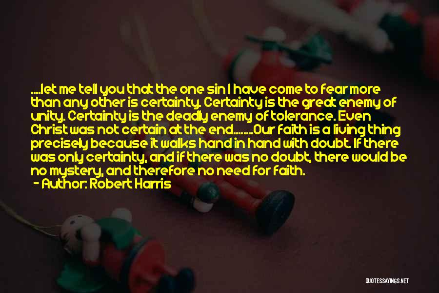 Inspirational Unity Quotes By Robert Harris