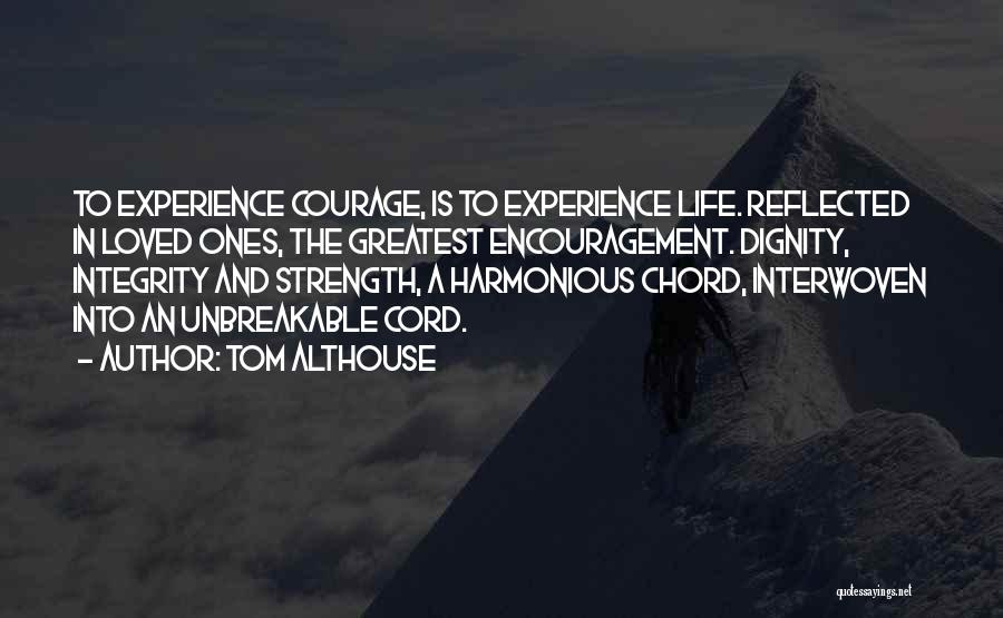 Inspirational Unity Quotes By Tom Althouse