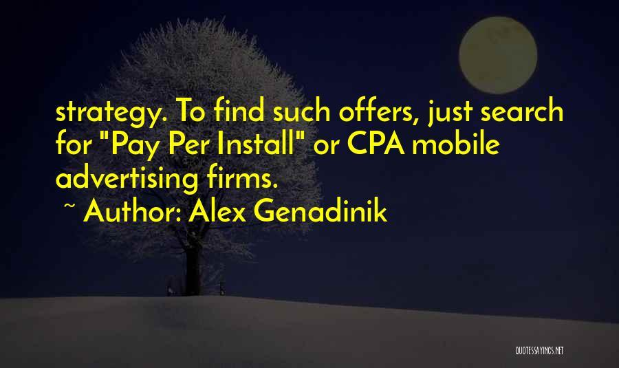 Install Quotes By Alex Genadinik