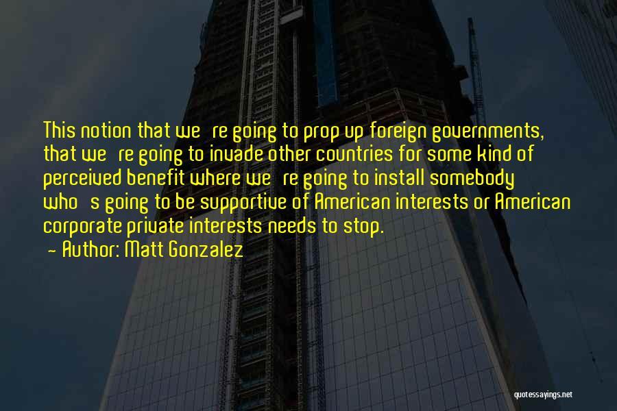 Install Quotes By Matt Gonzalez