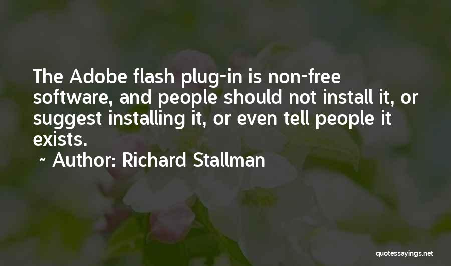 Install Quotes By Richard Stallman