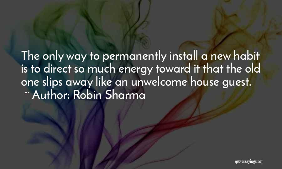 Install Quotes By Robin Sharma