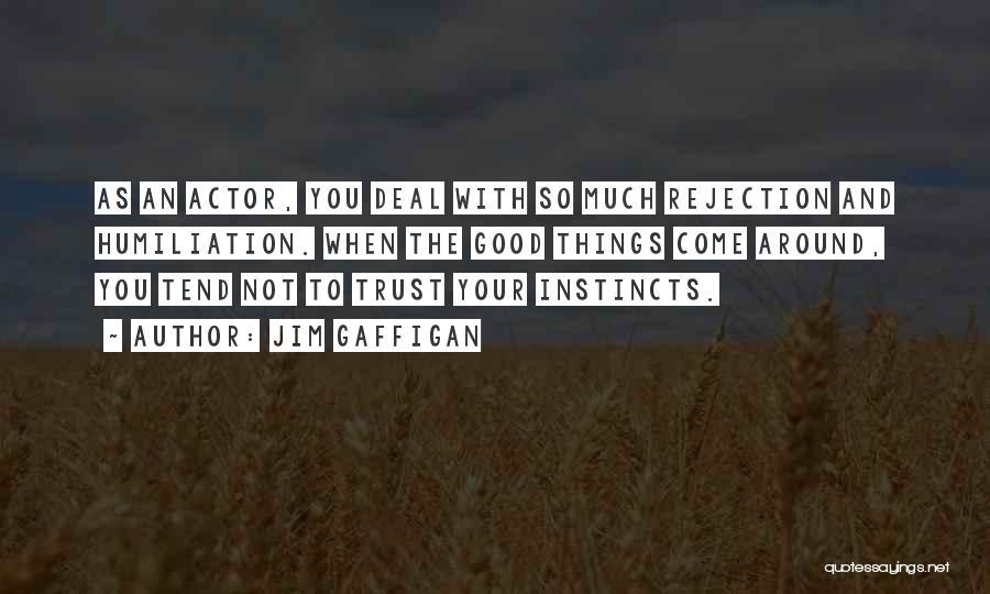 Instinct Trust Quotes By Jim Gaffigan