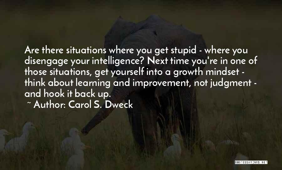 Intelligence And Learning Quotes By Carol S. Dweck