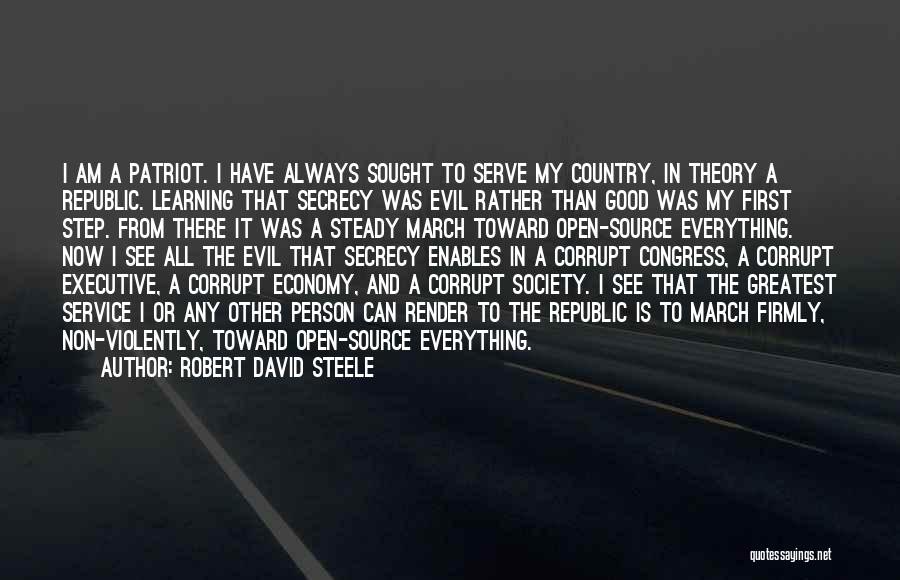 Intelligence And Learning Quotes By Robert David Steele