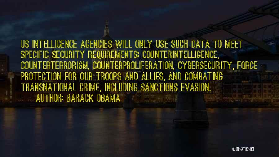 Intelligence And Security Quotes By Barack Obama
