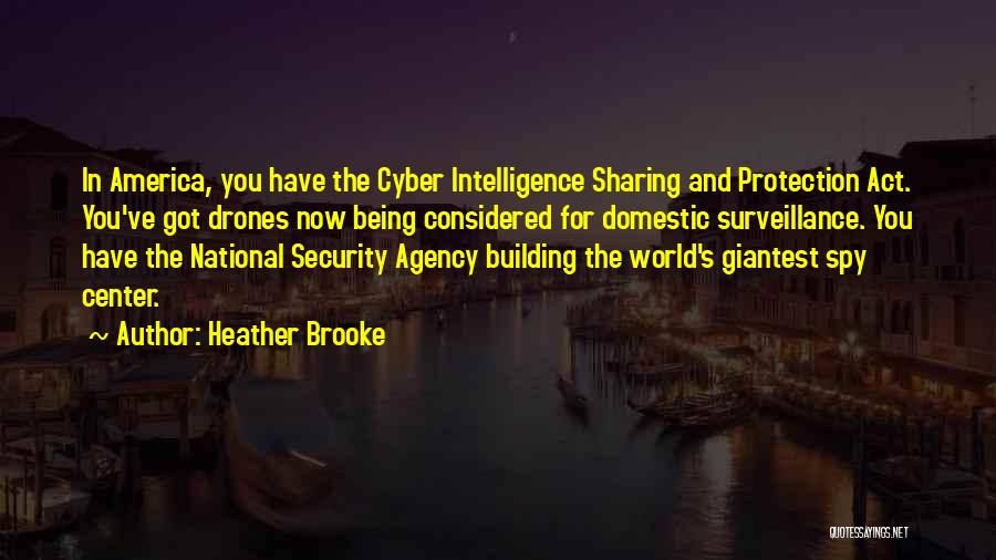 Intelligence And Security Quotes By Heather Brooke
