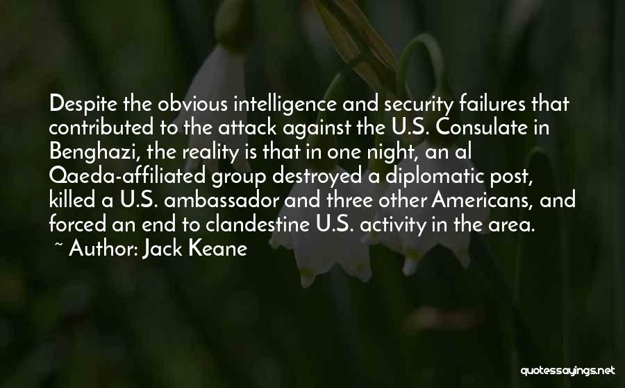Intelligence And Security Quotes By Jack Keane