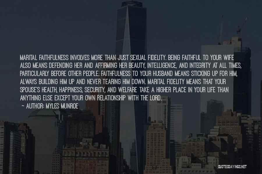 Intelligence And Security Quotes By Myles Munroe