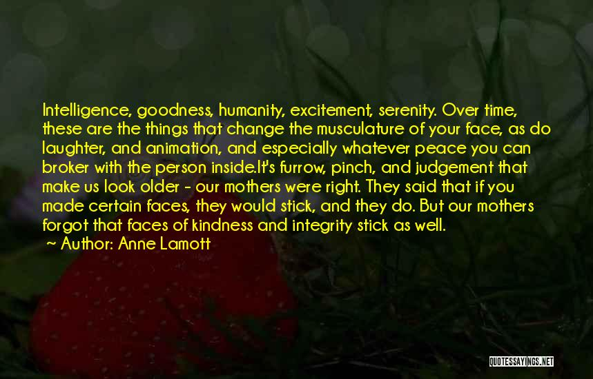 Intelligence Over Beauty Quotes By Anne Lamott