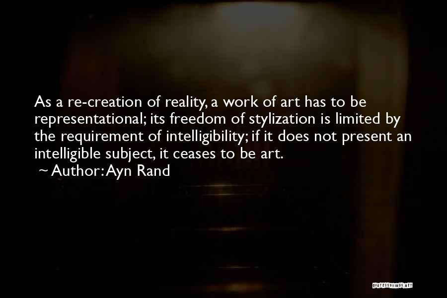 Intelligible Quotes By Ayn Rand